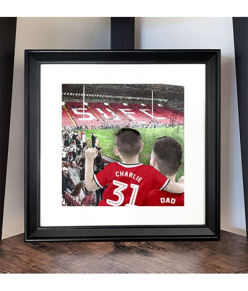 Football Fan Customisable Illustration - Sheffield United Ground