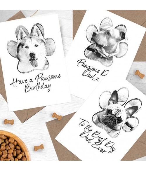 Personalised Pet Illustration Card